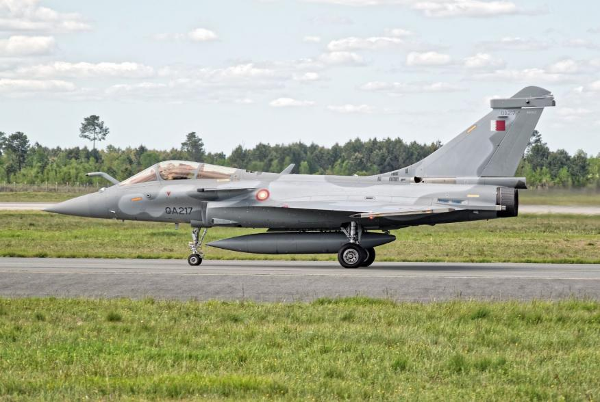 By Dylan Agbagni (CC0) from Bordeaux, France - QA217 - Dassault Rafale - Qatar Air Force, CC0, https://commons.wikimedia.org/w/index.php?curid=79813252