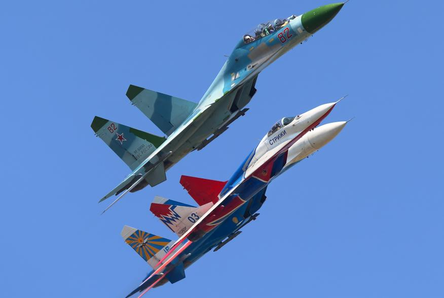 By Oleg V. Belyakov - AirTeamImages - Gallery page http://www.airliners.net/photo/Russia---Air/Sukhoi-Su-27UB/1971399/LPhoto http://cdn-www.airliners.net/aviation-photos/photos/9/9/3/1971399.jpg, CC BY-SA 3.0, https://commons.wikimedia.org/w/index.php?cur
