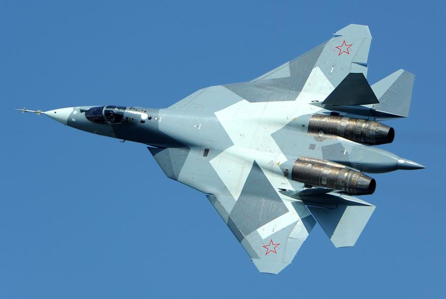 By Toshi Aoki - http://www.airliners.net/photo/Russia---Air/Sukhoi-T-50/1968701/L/, CC BY-SA 3.0, https://commons.wikimedia.org/w/index.php?curid=38090465