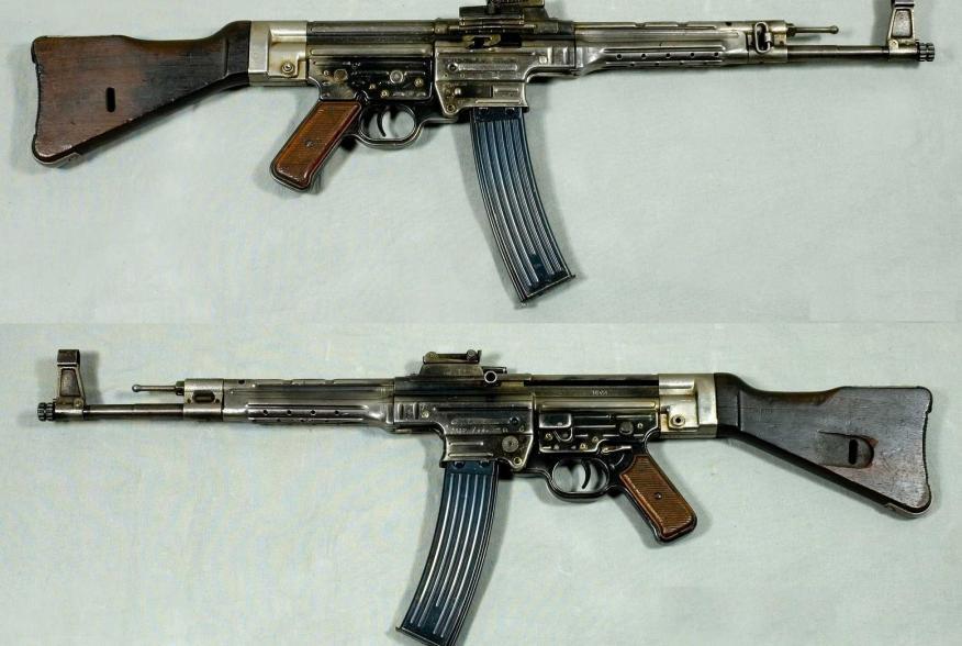 https://en.wikipedia.org/wiki/StG_44#/media/File:MP44_-_Tyskland_-_8x33mm_Kurz_-_Arm%C3%A9museum.jpg