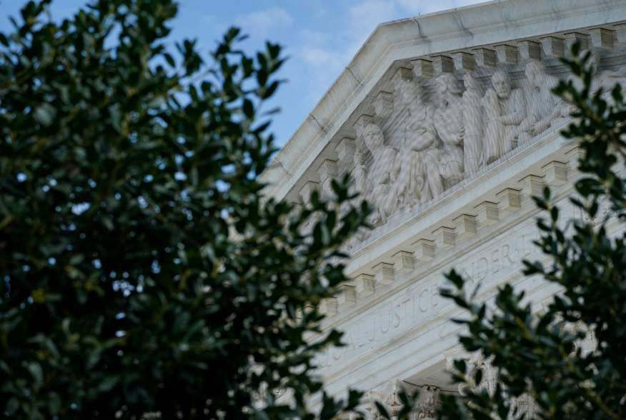FILE PHOTO: The exterior of the U.S. Supreme Court in Washington, U.S., as seen on September 16, 2019. REUTERS/Sarah Silbiger/File Photo