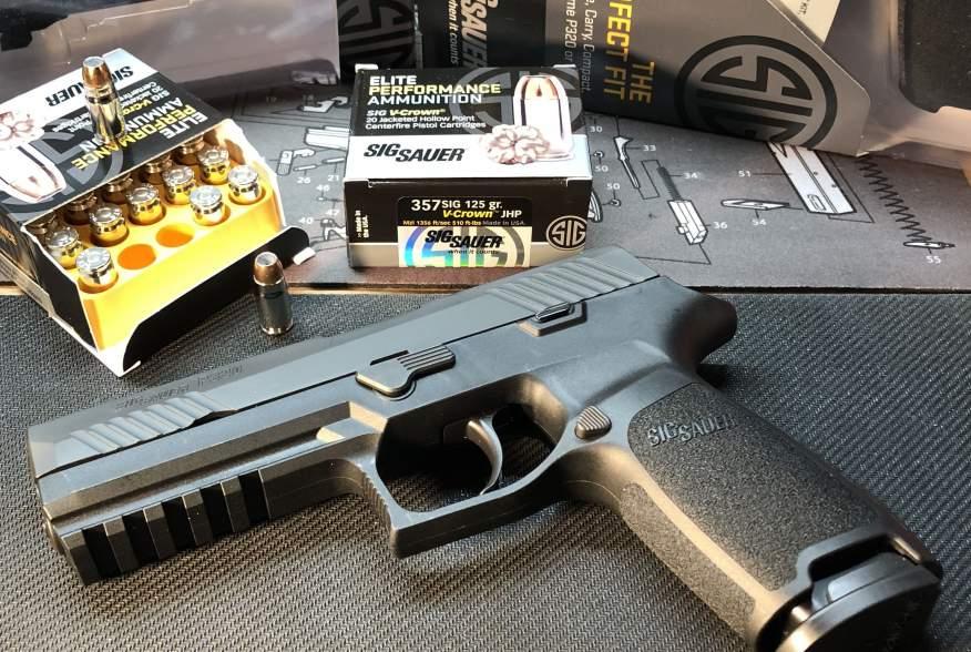 Photograph of a Sig Sauer, Inc. Model P320 Handgun Date16 January 2018