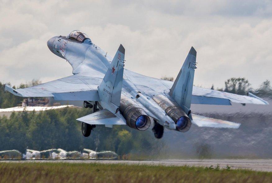 Sukhoi Su-35S. 19 July 2016. Wikimedia/Dmitry Terekhov from Odintsovo, Russian Federation. Creative Commons Attribution-Share Alike 2.0 Generic.