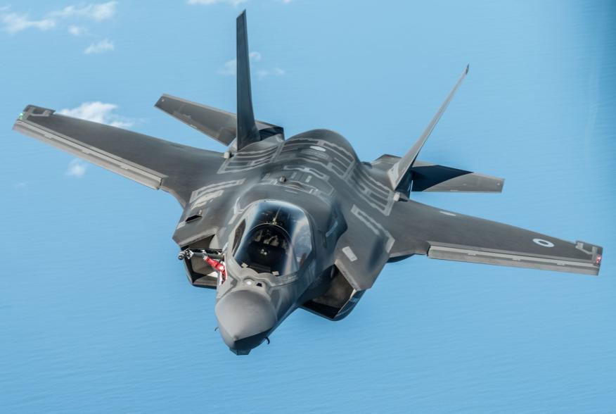 https://www.dvidshub.net/image/5760038/raf-f-35-lightning-ii-prepares-refueled-kc-135-stratotanker-during-training-mission-over