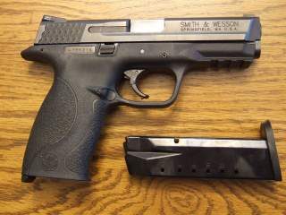 Smith & Wesson M&P pistol. Wikimedia Commons