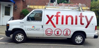 Comcast Xfinity Truck, 10/2014, by Mike Mozart of TheToyChannel and JeepersMedia on YouTube