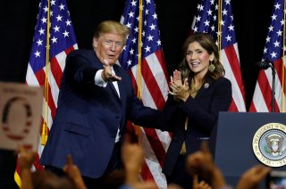 Trump and Noem