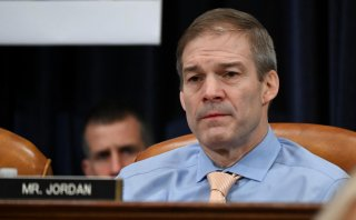 Republican member of the U.S. House Judiciary Committee Rep. Jim Jordan (R-OH) reacts as the committee votes to approve two articles of impeachment against U.S. President Donald Trump and send them on to the full House of Representatives for consideration