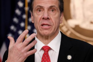 New York Governor Andrew Cuomo delivers remarks at a news conference regarding the first confirmed case of coronavirus in New York State in Manhattan borough of New York City, New York, U.S., March 2, 2020. REUTERS/Andrew Kelly