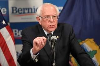 Democratic U.S. presidential candidate Bernie Sanders speaks about coronavirus in Burlington, Vermont, U.S. March 12, 2020. REUTERS/Caleb Kenna