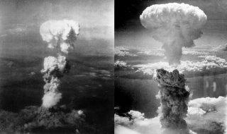 By George R. Caron - Nagasakibomb.jpgAtomic_cloud_over_Hiroshima.jpg, Public Domain, https://commons.wikimedia.org/w/index.php?curid=12204929