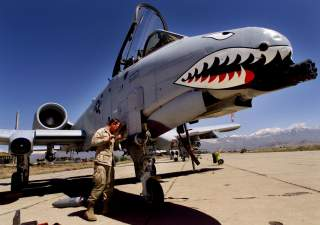 Ahh, the Warthog: A close air support death machine that looks like the energy drink and dip-fueled daydream of a grunt turned aeronautical engineer who decided to make a giant cannon — the GAU-8 Avenger — and then slap some wings on it.  Few aircraft hav