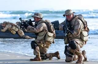 English: United States Navy SEALs [Public domain]