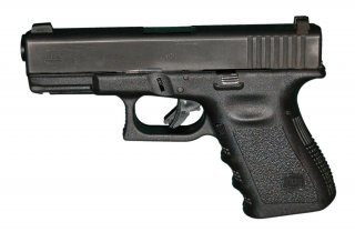GLOCK 23 .40S&W Pistol - 3rd Generation. Wikimedia/Michael Donnermeyer. Creative Commons Attribution-Share Alike 3.0 Unported.