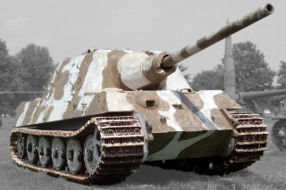 Jagdpanzer VI Jagdtiger on display at the US Army Ordnance Museum in Aberdeen. The picture taken July 3, 2006. Wikimedia/Fat yankey. Creative Commons Attribution-ShareAlike 2.5 Generic (CC BY-SA 2.5) license.