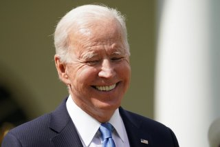 Joe Biden All Smiles