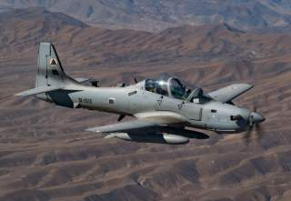 "In fact the A-29s were a ""game changer"" in the 2016 fighting season and there are high expectations for the aircraft and crews in 2017.  On Mar. 20, 2017 four A-29 Super Tucano light-attack aircraft arrived for duty at Kabul Air Wing, Kabul, Afghanistan,"
