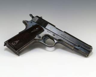 "By Lynette ""Squeaky"" Fromme's pistol, Public Domain, https://commons.wikimedia.org/w/index.php?curid=20698716"