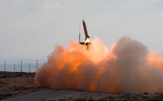 Launch of a Dutch Patriot. 18 October 2006. Dutch Ministry of Defense/Jan Kees de Meester.