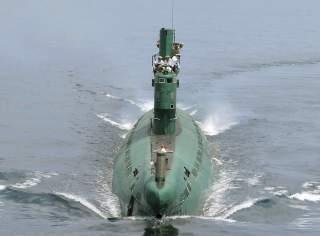 North korean midget subs