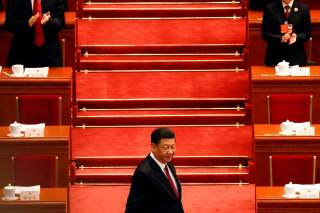 Chinese President Xi Jinping arrives for the opening session of the National People's Congress (NPC) at the Great Hall of the People in Beijing, China March 5, 2018. REUTERS/Damir Sagolj TPX IMAGES OF THE DAY