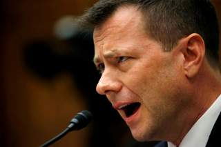 FBI Deputy Assistant Director Peter Strzok testifies before the House Committees on Judiciary and Oversight and Government Reform joint hearing on