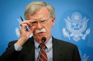 U.S. President Donald Trump's national security adviser John Bolton speaks at a news conference in Kiev, Ukraine August 24, 2018. REUTERS/Valentyn Ogirenko