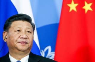 Chinese President Xi Jinping attends a signing ceremony following the Russian-Chinese talks on the sidelines of the Eastern Economic Forum in Vladivostok, Russia September 11, 2018. Alexander Ryumin/TASS Host Photo Agency/Pool via REUTERS