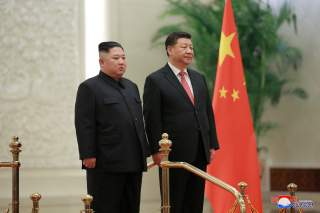 North Korean leader Kim Jong Un meets President Xi Jinping in Beijing, China, in this photo released by North Korea's Korean Central News Agency (KCNA) on January 10, 2019. KCNA via REUTERS ATTENTION EDITORS - THIS IMAGE WAS PROVIDED BY A THIRD PARTY. REU