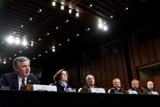 Senate Intelligence Committee hearing about