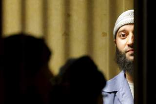 Convicted murderer Adnan Syed leaves the Baltimore City Circuit Courthouse in Baltimore, Maryland February 5, 2016. The Maryland man whose 2000 murder conviction was thrown into question by the popular