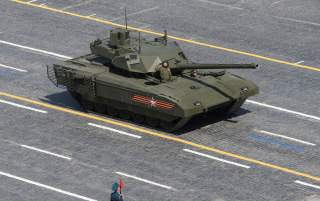 FILE PHOTO: Russian T-14 tank with the Armata Universal Combat Platform drives during the Victory Day parade at Red Square in Moscow, Russia, May 9, 2015. Russia marks the 70th anniversary of the end of World War Two in Europe on Saturday with a military