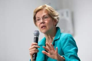 U.S. Senator and democratic presidential candidate Elizabeth Warren speaks during a campaign event in New York City, U.S. September 17, 2019. REUTERS/Brendan McDermid