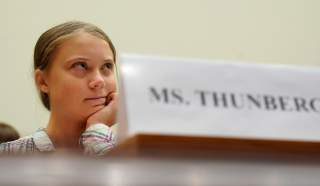 Sixteen year-old Swedish climate activist Greta Thunberg testifies at a House Foreign Affairs subcommittee and House Select Climate Crisis Committee joint hearing on