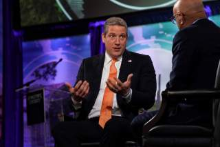 2020 Democratic presidential candidate Rep. Tim Ryan (D-OH) and MSNBC's Ali Velshi participate in the