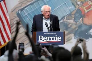Democratic 2020 U.S. presidential candidate Senator Bernie Sanders speaks during a Climate Crisis Summit with Rep. Alexandria Ocasio-Cortez at Drake University in Des Moines, Iowa, U.S. November 9, 2019. REUTERS/Scott Morgan