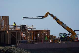 Work crews construct a new hotel complex on oceanfront property in Encinitas, California, U.S., November 26, 2019. REUTERS/Mike Blake
