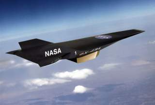 An artist's conception of NASA's X-43A Hypersonic Experimental Vehicle, or