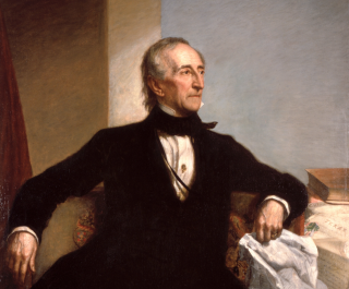 Official White House portrait of John Tyler (1790-1862)