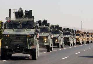 Key point: Turkey doesn't want resistance to stiffen and so is going all in as fast as it can.  Turkish ground forces, part of its military incursion dubbed Operation Peace Spring, rolled across the border into northeastern Syria on Oct. 9 in an offensive