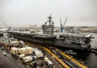 https://www.dvidshub.net/image/5123146/nnsy-welcomes-uss-george-hw-bush-dry-docking-planned-incremental-availability
