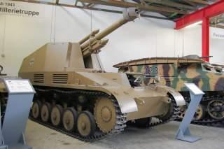 Leichte Feldhaubitze 18/2 auf Fahrgestell Panzerkampfwagen II