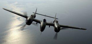 OVER VIRGINIA -- Steve Hinton flies