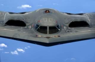 A U.S. Air Force B-2 Spirit