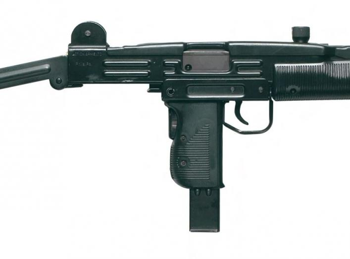 By US Air Force from USA - UZI Submachine Gun, Public Domain, https://commons.wikimedia.org/w/index.php?curid=56363013