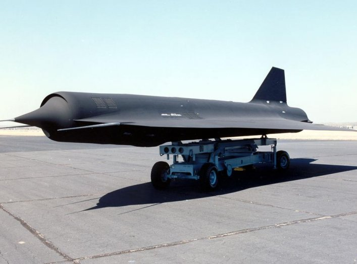 Lockheed D-21B at the National Museum of the United States Air Force. (U.S. Air Force photo)