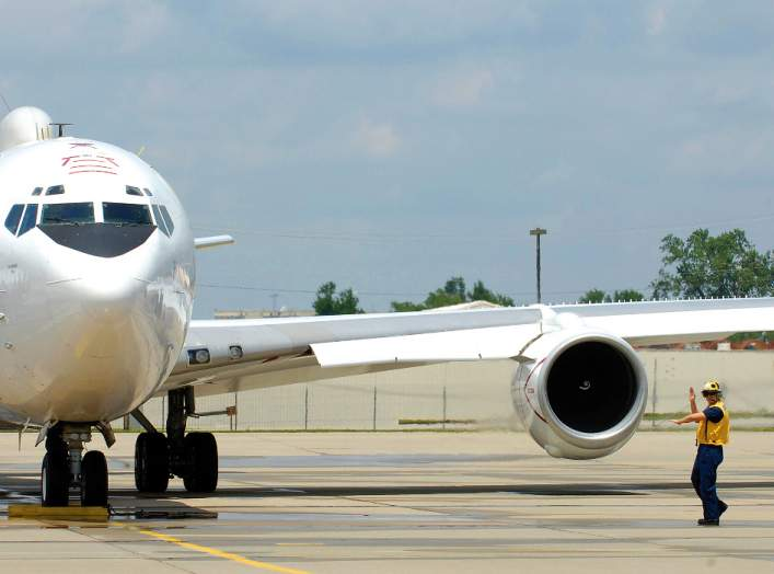 566th Aircraft Maintenance Squadron personnel assigned to the Oklahoma City Air Logistics Center at Tinker Air Force Base, Okla., are scheduled to begin work on the service life extension program for the Navy's fleet of E-6B Mercury aircraft flown by Stra