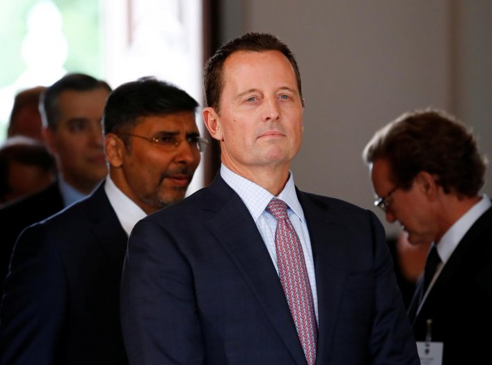 The ambassador of U.S. to Germany, Richard Grenell, in pictured in Meseberg, Germany July 6, 2018. REUTERS/Axel Schmidt