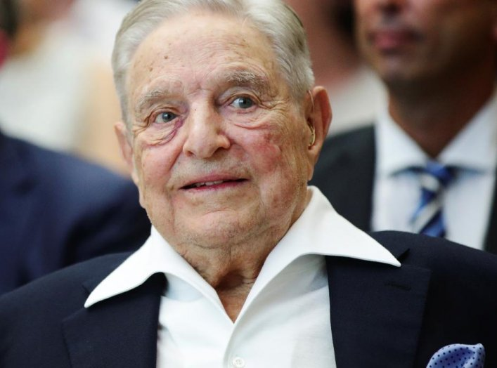 Billionaire investor George Soros attends the Schumpeter Award in Vienna, Austria June 21, 2019. REUTERS/Lisi Niesner