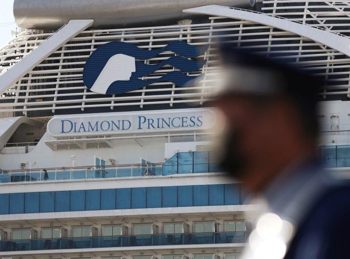 The cruise ship Diamond Princess is seen at Daikoku Pier Cruise Terminal in Yokohama, south of Tokyo, Japan February 21, 2020. REUTERS/Athit Perawongmetha